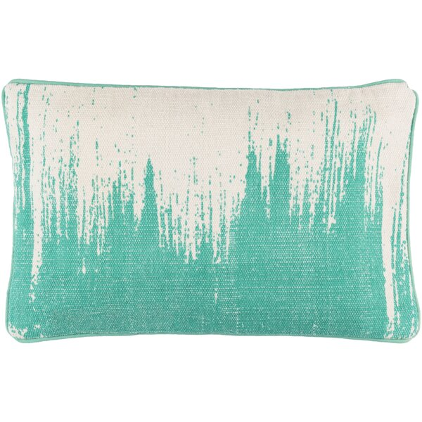 Lahey 100% Cotton Lumbar Pillow Cover by Wrought Studio